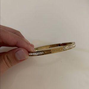 Michael Kors gold bangle bracelet